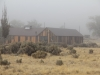 Location - Camp Tulelake in the fog